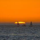 Sunset Sail by Imagery