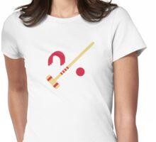 Croquet equipment Womens Fitted T-Shirt