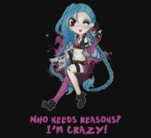 Jinx - League of Legends by linkitty