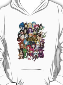 Chibi League of Legends T-Shirt