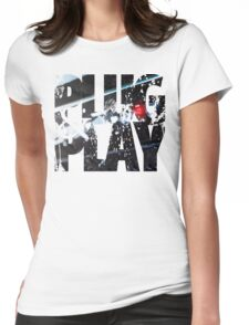 control panel  Womens Fitted T-Shirt