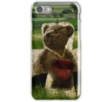 Teddies heart iPhone Case/Skin