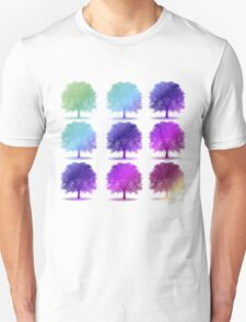 tree isolated over white Unisex T-Shirt