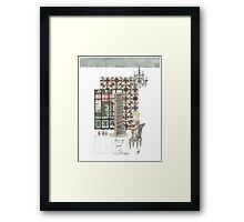 13 Layer Cake Framed Print