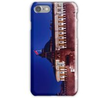 kremlin with red flag iPhone Case/Skin