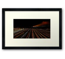 Dover Harbour Framed Print