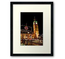 London Scene 2 Framed Print