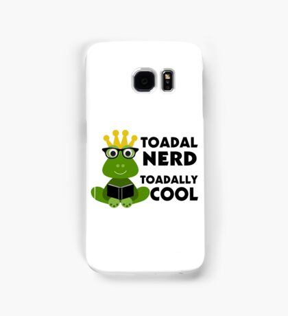 Toadal Nerd Toadally Cool Samsung Galaxy Case/Skin