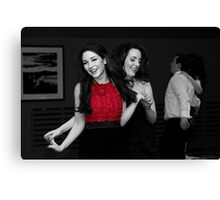 Take Your Partner... Canvas Print