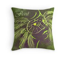 Year of the Flood Throw Pillow
