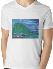 Whale of a Fairytale Mens V-Neck T-Shirt