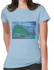 Whale of a Fairytale Womens Fitted T-Shirt