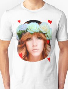 Stevie Nicks Flowers T-Shirt