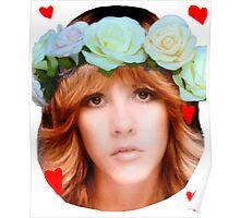 Stevie Nicks Flowers Poster