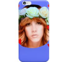 Stevie Nicks Flowers iPhone Case/Skin