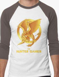 the Hunter Games Men's Baseball ¾ T-Shirt