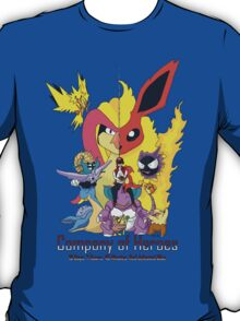 Company of Heroes - Twitch Plays Pokemon T-Shirt