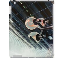 the light went out in the world of finance iPad Case/Skin