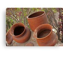 Ceramic Pots Canvas Print