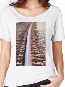 train track Women's Relaxed Fit T-Shirt