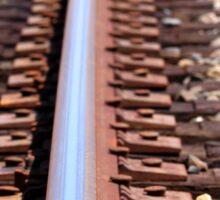train track Sticker