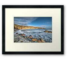 Anglesey Seascape Framed Print
