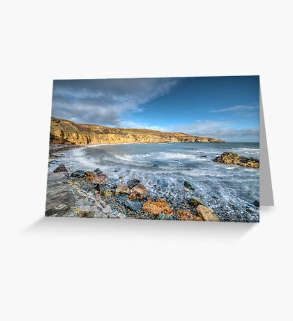 Anglesey Seascape Greeting Card