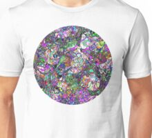 Colorful Lines Abstract Unisex T-Shirt