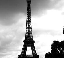 The Eiffel Tower by MadVonD