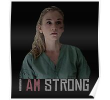 I AM Strong. Poster
