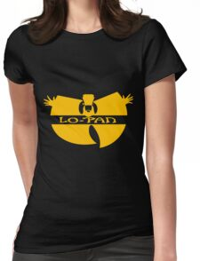 Lo Pan Clan (yellow) Womens Fitted T-Shirt