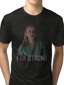 I AM Strong. Tri-blend T-Shirt