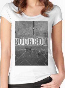 Bourbon Street Women's Fitted Scoop T-Shirt