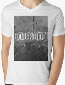 Bourbon Street Mens V-Neck T-Shirt