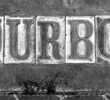 Bourbon Street Sticker