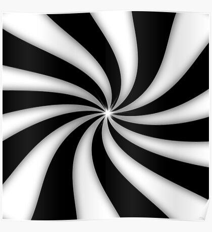 Swirly Poster