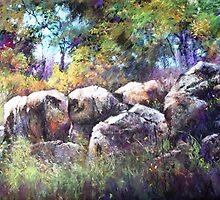 Granite Henge by Lyn Green