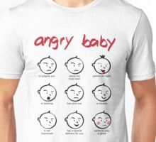 Angry baby compilation Unisex T-Shirt