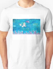 Cat Over City T-Shirt