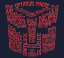 Autobot - Typography - G1 by UncleCory