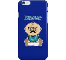 Bibster - Baby Hipster iPhone Case/Skin