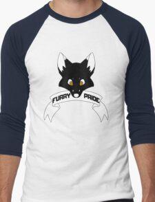 Furry Pride - Fox Men's Baseball ¾ T-Shirt
