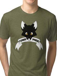 Furry Pride - Fox Tri-blend T-Shirt