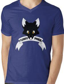 Furry Pride - Fox Mens V-Neck T-Shirt