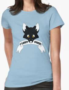 Furry Pride - Fox Womens Fitted T-Shirt