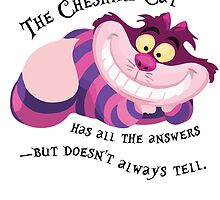 The Cheshire Cat by sleepingm4fi4