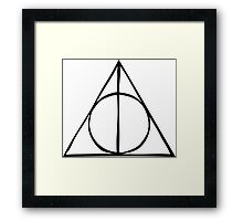 Harry Potter - Deathly Hallows Framed Print