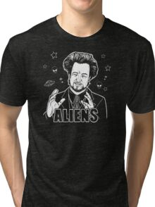 The Aliens Guy (Giorgio Tsoukalos) Tri-blend T-Shirt