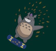 Totoro Skate by HairicaneAndrew
