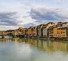 The Ponte Vecchio Bridge II by Wade Brooks
